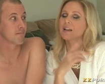 Ginormous Tits Mummy Julia Ann Gives Head And Twat Boned