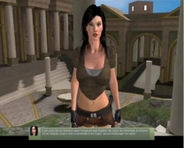 كاتي في و ليز سائغة في قصة الأزيز في 3Dsexvilla اثنين