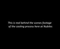 Nubiles Castingu - Nastolatka Skarbie Próbuje Pornografię Xxx