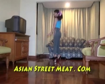 Hunger Quenching Asian Buttfuck