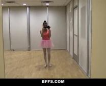 Ballerine Chétif Super-Mignon Porked Par Ses Copains - Bffs